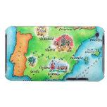 Mapa de España Case-Mate iPod Touch Protectores
