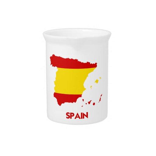 MAPA DE ESPAÑA JARRAS