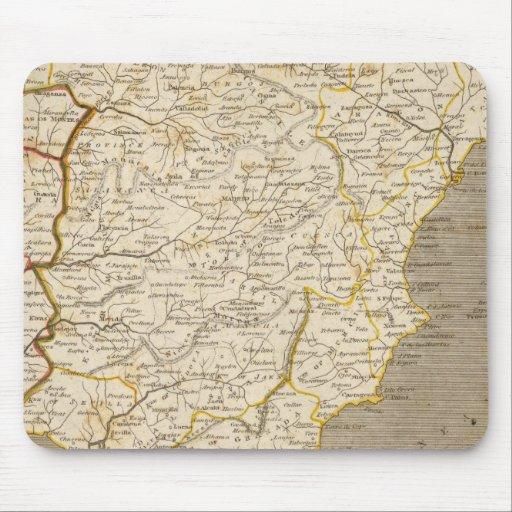 Mapa de España, Portugal por Arrowsmith Tapete De Raton
