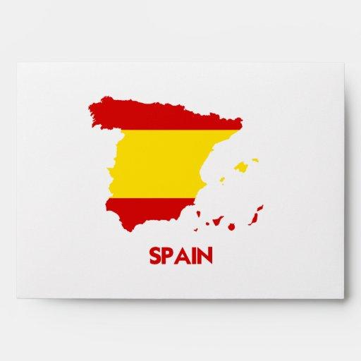 MAPA DE ESPAÑA SOBRE