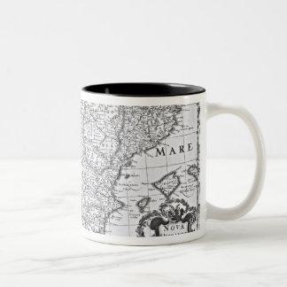Mapa de España Tazas De Café
