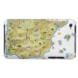 Mapa de España y de Portugal iPod Case-Mate Cobertura