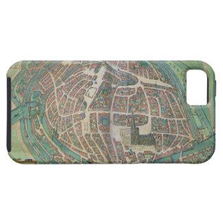 Mapa de Estrasburgo, de 'Civitates Orbis Terrarum iPhone 5 Funda