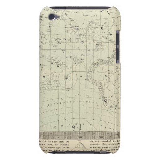 Mapa de estrella 2 iPod touch fundas