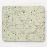 Mapa de estrella 2 tapetes de ratones