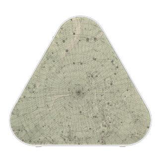 Mapa de estrella de la región polar del norte altavoz bluetooth