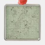 Mapa de estrella ornamente de reyes