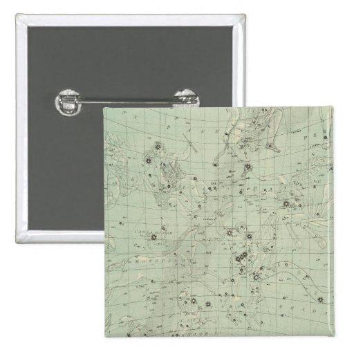 Mapa de estrella pin