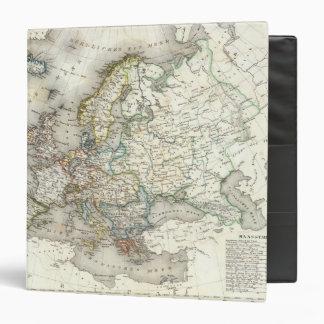 """Mapa de Europ Carpeta 1 1/2"""""""