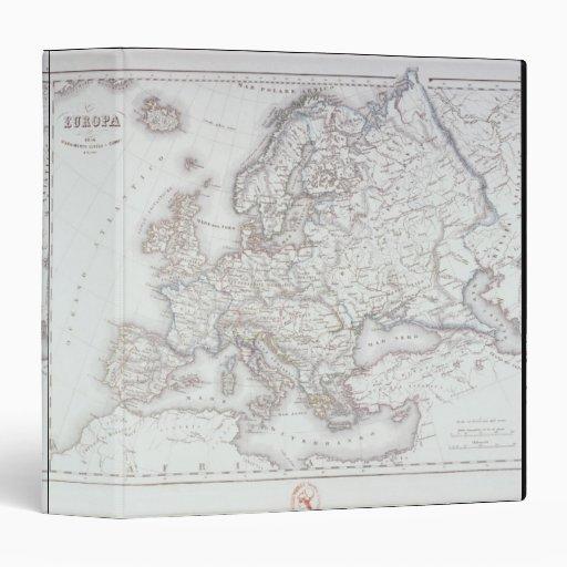 """Mapa de Europa 2 Carpeta 1 1/2"""""""