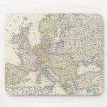 Mapa de Europa 3 Alfombrilla De Raton