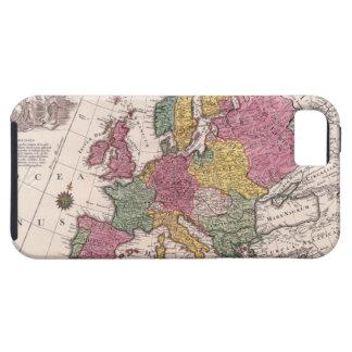 Mapa de Europa 3 iPhone 5 Case-Mate Cárcasa