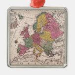 Mapa de Europa 3 Ornamentos De Reyes