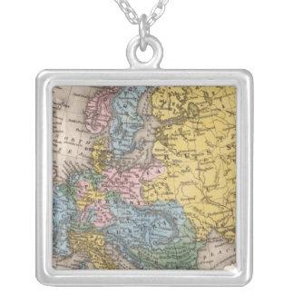 Mapa de Europa 4 Colgantes