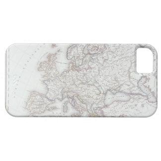 Mapa de Europa 5 iPhone 5 Funda
