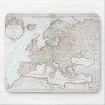 Mapa de Europa 7 Tapete De Raton