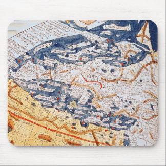 Mapa de Europa Central, 1486 Mouse Pad