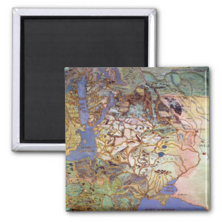Mapa de Europa Central Iman