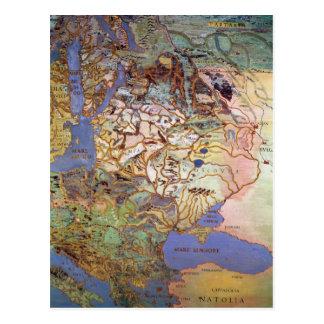 Mapa de Europa Central Postal