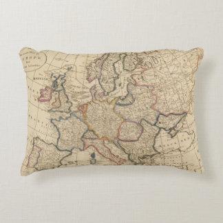 Mapa de Europa Cojín Decorativo