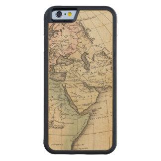 mapa de Europa, de África septentrional y de Asia Funda De iPhone 6 Bumper Arce
