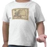 Mapa de Europa de Mitchell Camisetas
