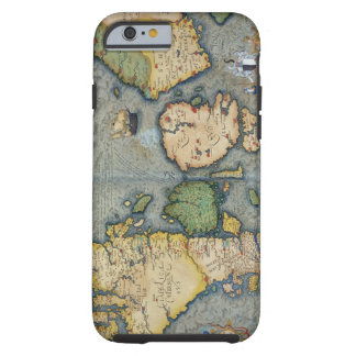 Mapa de Europa del Norte, de 'Civitates Orbis Terr Funda De iPhone 6 Tough