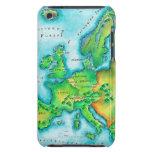 Mapa de Europa occidental Barely There iPod Funda