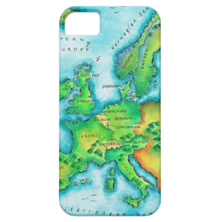 Mapa de Europa occidental iPhone 5 Cobertura
