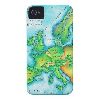 Mapa de Europa occidental iPhone 4 Cobertura