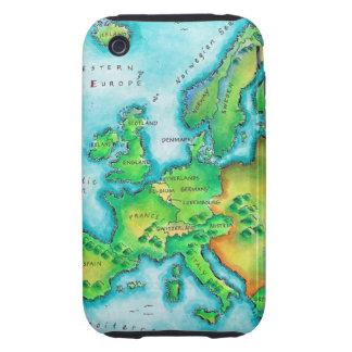 Mapa de Europa occidental
