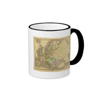 Mapa de Europa Olney Tazas De Café