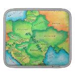 Mapa de Europa Oriental Mangas De iPad