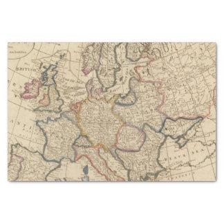 Mapa de Europa Papel De Seda Pequeño