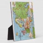 Mapa de Europa Placas De Madera