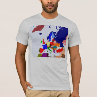 Mapa de Europa Playera