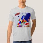 Mapa de Europa Polera