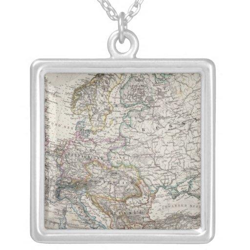 Mapa de Europa por Stieler Grimpolas Personalizadas