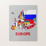 MAPA DE EUROPA ROMPECABEZA CON FOTOS