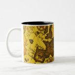 Mapa de Europa Tazas De Café