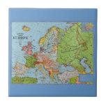 Mapa de Europa Tejas