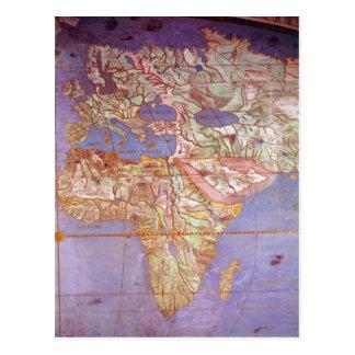 Mapa de Europa y de África Postal
