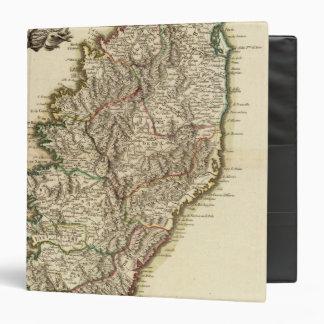 """Mapa de Francia Boundries Carpeta 1 1/2"""""""