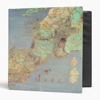 """Mapa de Francia, de España y de África del Carpeta 1 1/2"""""""
