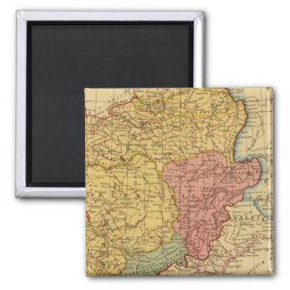 Mapa de Galia Imán Cuadrado