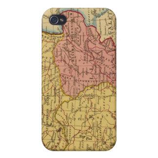 Mapa de Galia iPhone 4/4S Carcasa