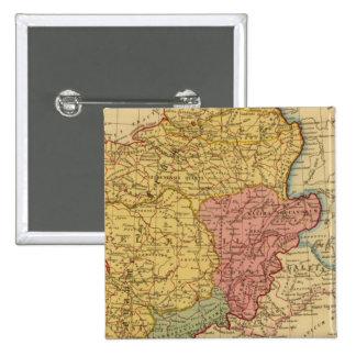 Mapa de Galia Pin Cuadrado
