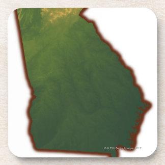 Mapa de Georgia 2 Posavaso