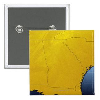Mapa de Georgia 3 Pin Cuadrado