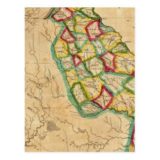 Mapa de Georgia Postales